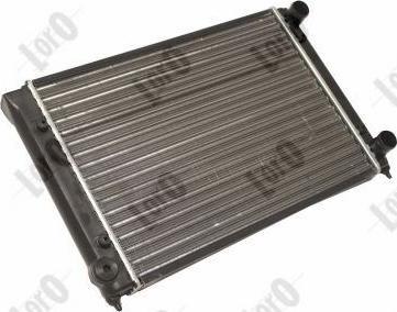 ABAKUS 0530170003 - Радіатор, охолодження двигуна autozip.com.ua
