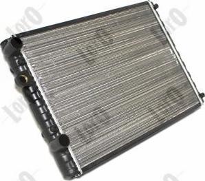 ABAKUS 0530170037 - Радіатор, охолодження двигуна autozip.com.ua