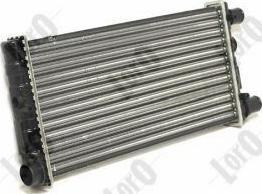 ABAKUS 0160170001 - Радіатор, охолодження двигуна autozip.com.ua