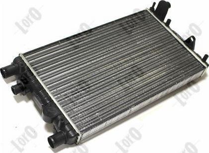 ABAKUS 0160170016 - Радіатор, охолодження двигуна autozip.com.ua