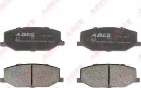 ABE C18003ABE - Гальмівні колодки, дискові гальма autozip.com.ua