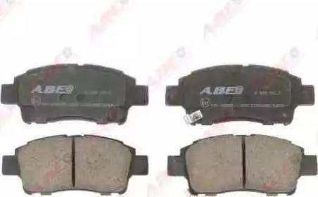 ABE C12084ABE - Гальмівні колодки, дискові гальма autozip.com.ua