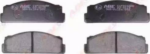 ABE C1F006ABE - Гальмівні колодки, дискові гальма autozip.com.ua