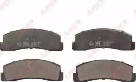 ABE C1L000ABE - Гальмівні колодки, дискові гальма autozip.com.ua