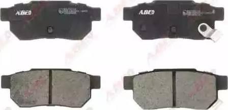 ABE C24007ABE - Гальмівні колодки, дискові гальма autozip.com.ua