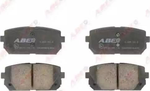 ABE C20309ABE - Гальмівні колодки, дискові гальма autozip.com.ua