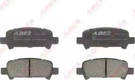 ABE C27002ABE - Гальмівні колодки, дискові гальма autozip.com.ua