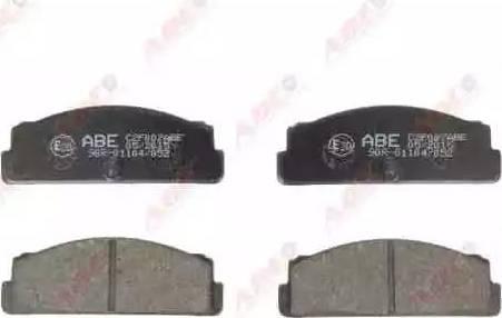 ABE C2F007ABE - Гальмівні колодки, дискові гальма autozip.com.ua