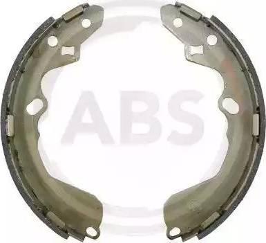 A.B.S. 9191 - Комплект гальм, барабанний механізм autozip.com.ua