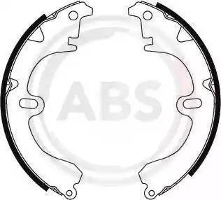 A.B.S. 8594 - Комплект гальм, барабанний механізм autozip.com.ua