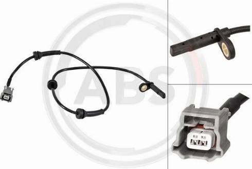 A.B.S. 31639 - Датчик ABS, частота обертання колеса autozip.com.ua