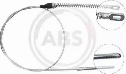A.B.S. K15458 - Трос, гальмівна система autozip.com.ua