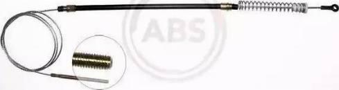 A.B.S. K10108 - Трос, гальмівна система autozip.com.ua