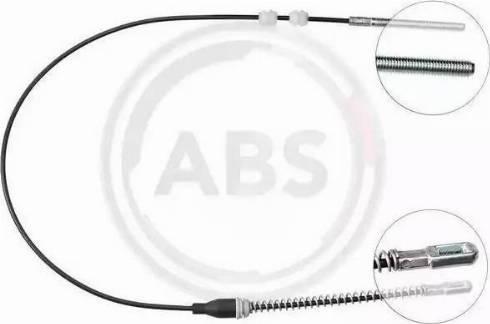 A.B.S. K12027 - Трос, гальмівна система autozip.com.ua