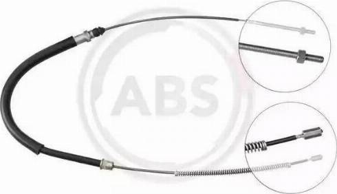 A.B.S. K12207 - Трос, гальмівна система autozip.com.ua