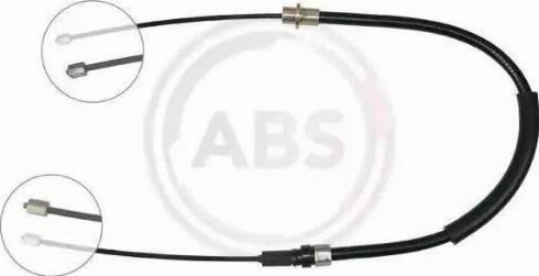 A.B.S. K17097 - Трос, гальмівна система autozip.com.ua