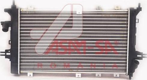 ASAM 32451 - Радіатор, охолодження двигуна autozip.com.ua
