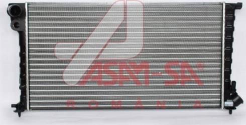 ASAM 32848 - Радіатор, охолодження двигуна autozip.com.ua