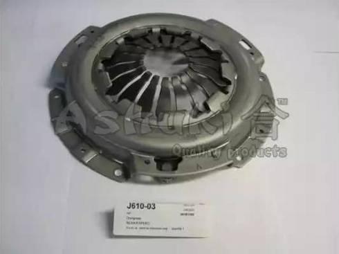 Ashuki J610-03 - Нажимной диск зчеплення autozip.com.ua