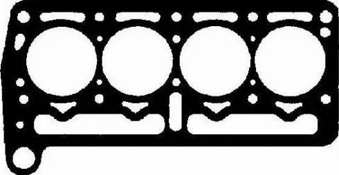 BGA CH2350 - Прокладка, головка циліндра autozip.com.ua