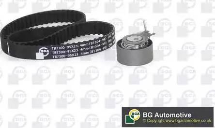 BGA TB7300K - Комплект ременя ГРМ autozip.com.ua