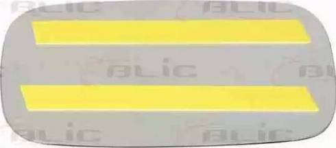 BLIC 6102010046P - Дзеркальне скло, зовнішнє дзеркало autozip.com.ua