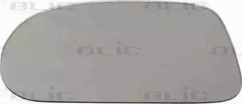 BLIC 6102010048P - Дзеркальне скло, зовнішнє дзеркало autozip.com.ua