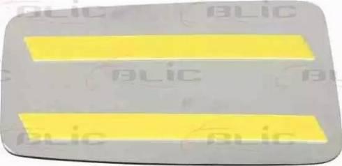 BLIC 6102010143P - Дзеркальне скло, зовнішнє дзеркало autozip.com.ua