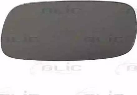 BLIC 6102010124P - Дзеркальне скло, зовнішнє дзеркало autozip.com.ua