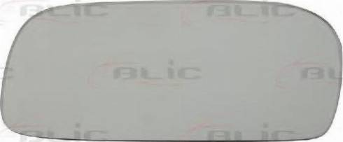 BLIC 6102011157P - Дзеркальне скло, зовнішнє дзеркало autozip.com.ua