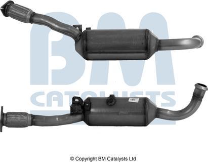 BM Catalysts BM11285HP - сажі / частковий фільтр, система вихлопу ОГ autozip.com.ua