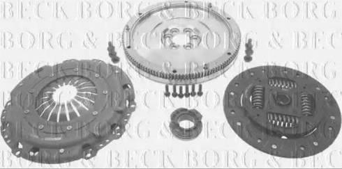 Borg & Beck HKF1000 - Комплект для переобладнання, зчеплення autozip.com.ua