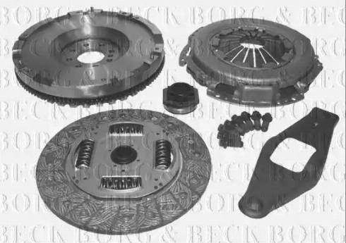 Borg & Beck HKF1001 - Комплект для переобладнання, зчеплення autozip.com.ua