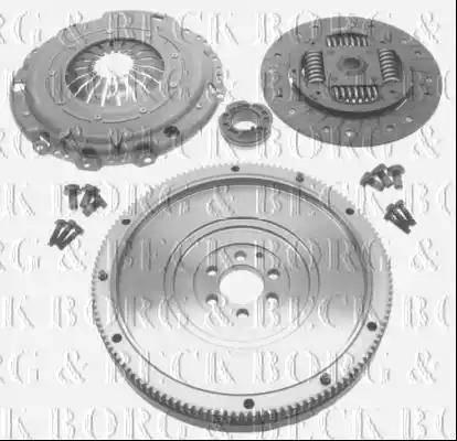 Borg & Beck HKF1014 - Комплект для переобладнання, зчеплення autozip.com.ua