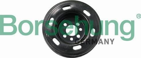 Borsehung B19121 - Ремінний шків, колінчастий вал autozip.com.ua