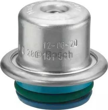 BOSCH 0280161511 - Регулятор тиску подачі палива autozip.com.ua