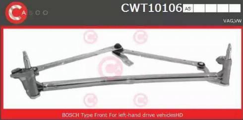 Casco CWT10106AS - Система тяг і важелів приводу склоочисника autozip.com.ua