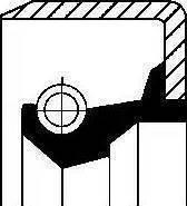 Corteco 12011341B - Ущільнене кільце, допоміжний привід autozip.com.ua