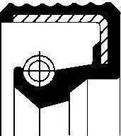 Corteco 01036702B - Ущільнене кільце, ступінчаста коробка передач autozip.com.ua