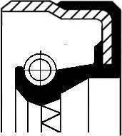 Corteco 01016962B - Ущільнене кільце, допоміжний привід autozip.com.ua