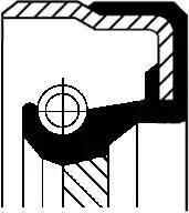 Corteco 01027959B - Ущільнене кільце, роздавальна коробка autozip.com.ua