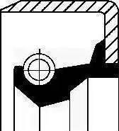Corteco 19015082B - Ущільнене кільце, ступінчаста коробка передач autozip.com.ua