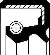 Corteco 01031067B - Ущільнене кільце, ступінчаста коробка передач autozip.com.ua