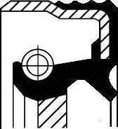 Corteco =12014825B - Ущільнене кільце, роздавальна коробка autozip.com.ua