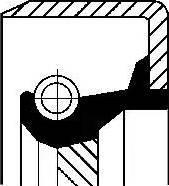 Corteco 12011464B - Ущільнене кільце, допоміжний привід autozip.com.ua
