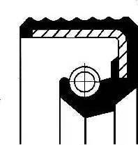 Corteco 01012588B - Ущільнене кільце, допоміжний привід autozip.com.ua