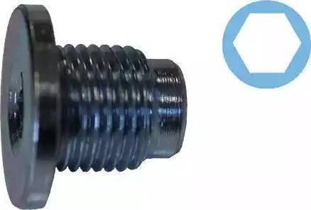 Corteco 407711H - Кільце ущільнювача, нарізна пробка мастилозливного  отвору autozip.com.ua
