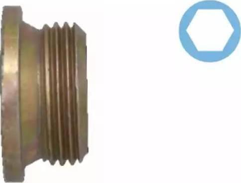 Corteco 005501H - Кільце ущільнювача, нарізна пробка мастилозливного  отвору autozip.com.ua