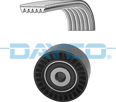 Dayco KPV286 - Поликлиновий ремінний комплект autozip.com.ua