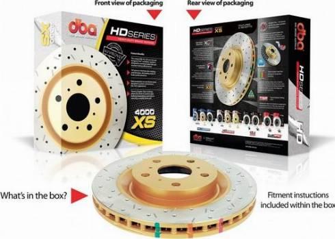 DBA Australia DBA42700XS - Економічний гальмівний диск autozip.com.ua